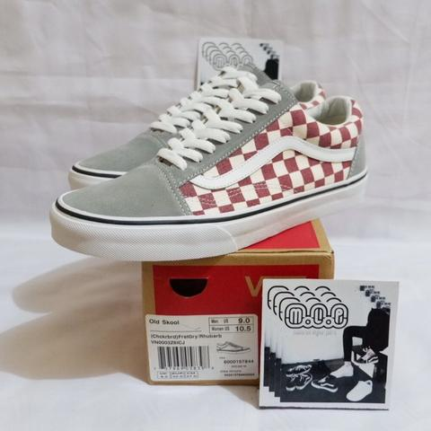 8b1232a4b8 Vans Old Skool Checkerboard Japan Market Original not Sk8hi Era Authentic