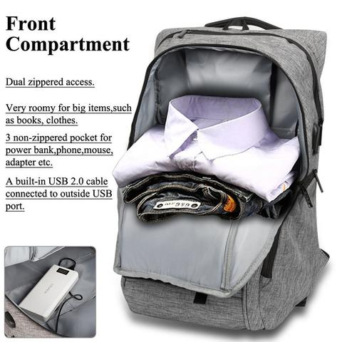 +++ Original Digital Bodyguard DTBG Business Backpack Laptop D8195W 17.3 Inch +++