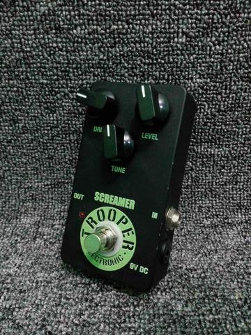 Trooper Electronic Screamer Overdrive Pedal