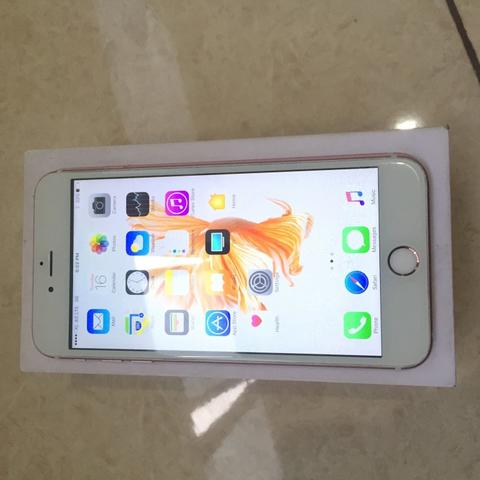 Terjual Iphone 6s plus + 16gb rose gold  d6b9752472