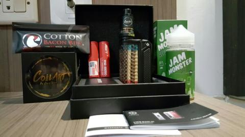Therion 166 DNA 250 SNAKE SKIN Mulus Like New PAKET PRO ALL AUTHENTIC