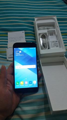 Terjual Jual Samsung A5 2017 Second Black Murah Like New Fullset
