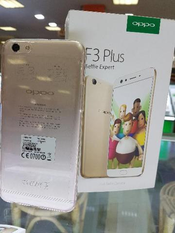 Oppo F3 plus selfie expert space gold