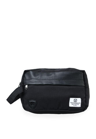 Woodbags Pouch Bag - Full Black