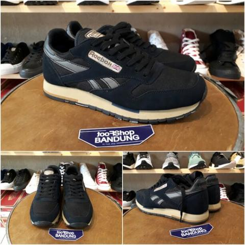 buy popular 3165c 3444e Reebok Classic Leather Utility 50th Anniversary BNIB (Free tas sepatu)