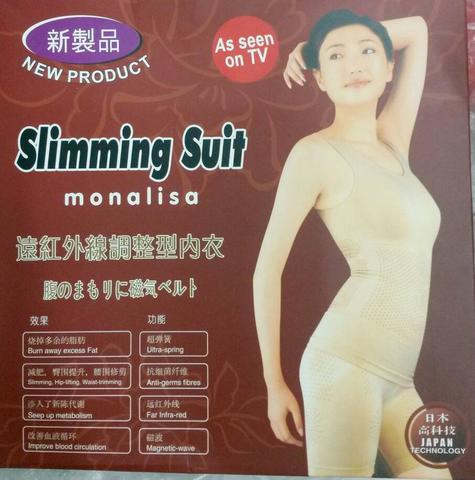 SLIMMING SUIT MONALISA DOUBLE INFRARED