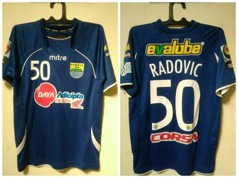 jersey original persib home 11/12 radovic
