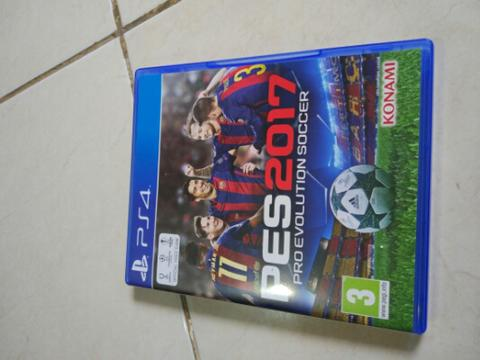 PES 2017 PS4 99% MULUS LIKE NEW
