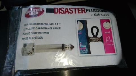Disaster Area Solderless patch cable