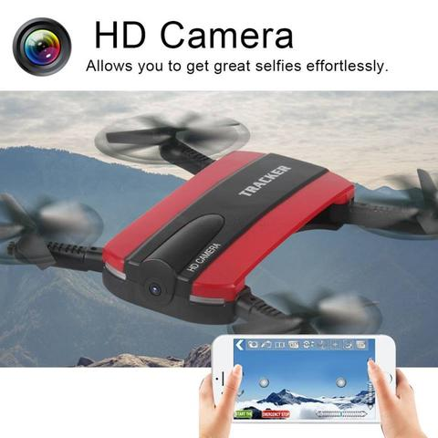 Foldable Rc Drone Jxd 523 Red New Generation Jjrc H37
