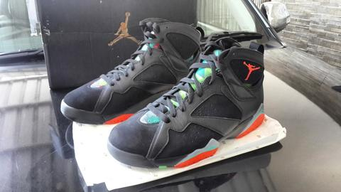 nouvelle arrivee dd57c cd62a sepatu basket nike air jordan 7 retro , barcelona night
