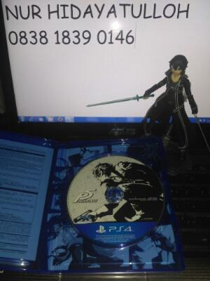 want to sell ps4 persona 5 reg 3 english version