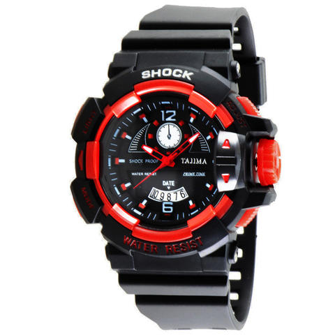 Tajima Analog Watch 5041 GD A04 Jam Tangan Pria - Merah