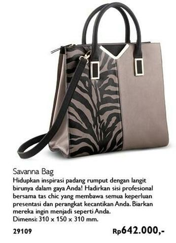 Terjual Savanna Bag by Oriflame  ffd00d08aa