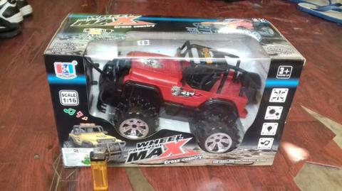 Cross Country 4x4 >> Terjual Promo Mobil Jeep Remote Control Wheel Powerfull Max Cross Country 4x4