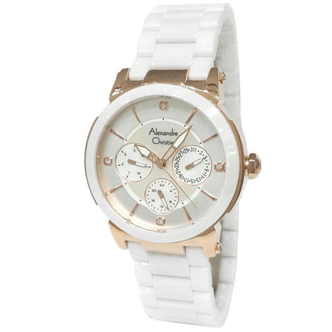 Alexandre Christie AC-2517-rose gold-ceramic
