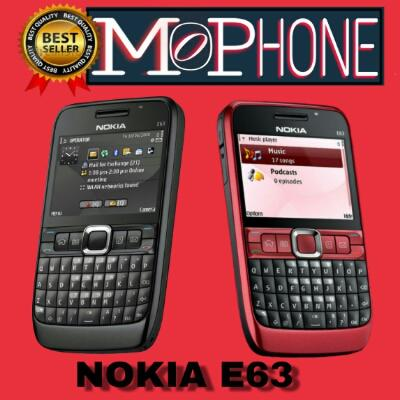 NOKIA E63 ORIGINAL NEW REFURBISH GARANSI 1 BULAN