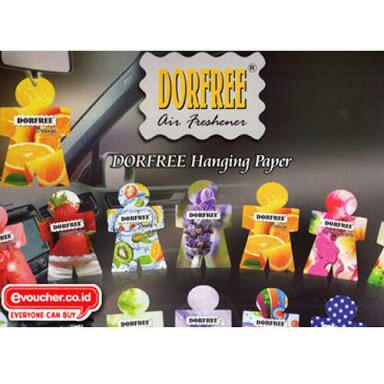 DORFREE PAPER CAR FRESHENERS GROSIR