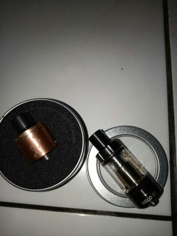 RDA 22mm made by WOTOFO and RTA 22mm by ELEAF - MELO ||| (3)
