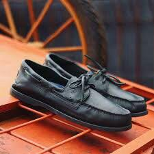 Sperry Top Sider Black Limited Edition