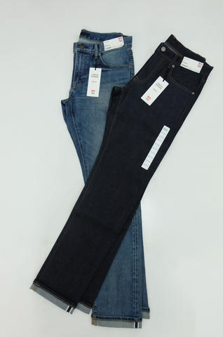 UNIQLO JEANS Stretch Selvedge Slim Fit