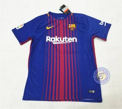 BARCELONA Official Jersey Dewasa Home Away 3rd UCL 2017-2018 GK Training Prematch