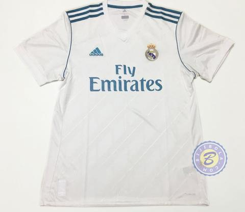 REAL MADRID Official Jersey Dewasa Home Away 3rd UCL 2017-2018 GK Training Prematch