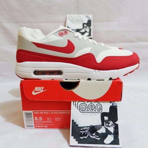 more photos 5a904 0b372 ... flyknit 291a9 467e5 usa nike air max 1 essential kaskus . nike air max  1 ultra essential white red