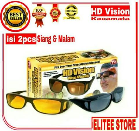 Terjual KACAMATA ANTI UV   KACAMATA NIGHT VIEW GLASSES NIGHTVISION ... 49f158ef41