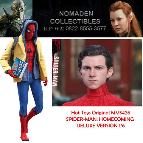 Hot toys Spiderman Homecoming 1/6 Deluxe Version