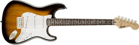 [IMAGINATION MUSIC STORE] Squier Bullet Stratocaster RW with Tremolo Brown Sunburst