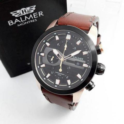 JAM TANGAN BALMER ORIGINAL 7938 BROWN ROSE