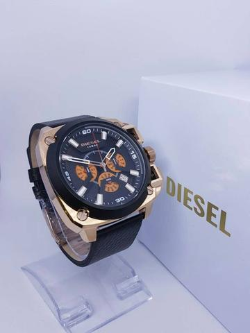 JAM TANGAN DIESEL CHRONOGRAPH SUPER LEATHER