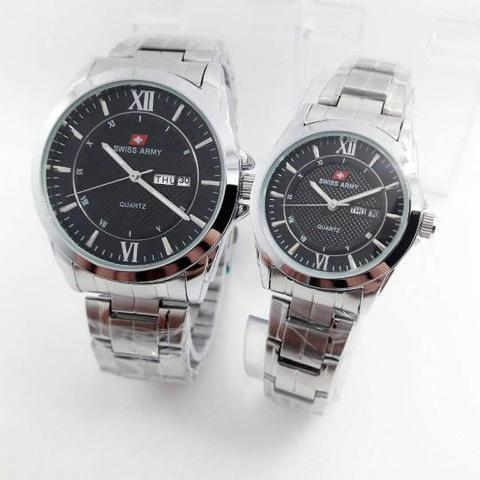 ngan Couple swiss army simple elegant day date