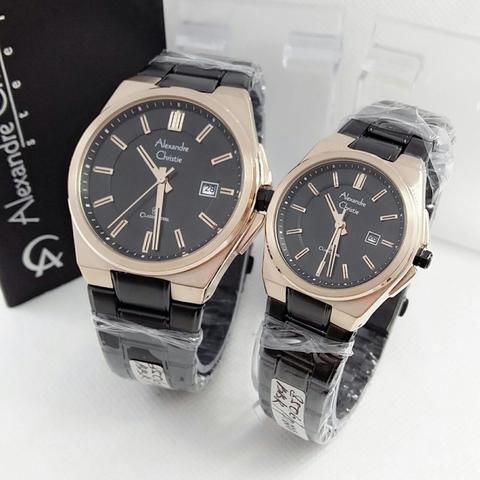 JAM TANGAN COUPLE ALEXANDRE CHRISTIE AC8506
