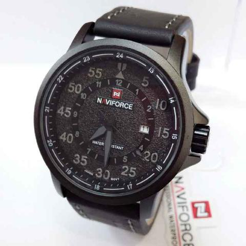 Jam Tangan Pria Naviforce Original NF 9076 Black