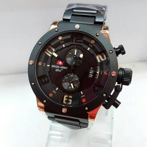 Jam Tangan Pria Swiss Army SA 2267 Model Expedition Rosegold