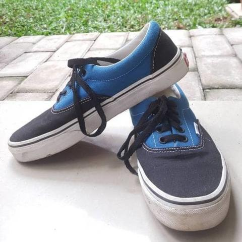 e9fbfe7ca64cf9 Terjual For SALE   Vans Era Blue Black (Summer of 77) Original Made ...