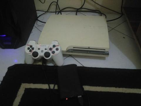Ps3 Slim Ex Japan Serie 25xx 500 gb + 160 gb full game mantap