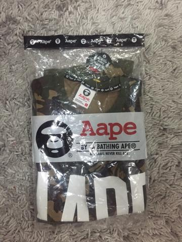 AAPE CAMOUFLAGE ORIGINAL 100% SIZE S NEW