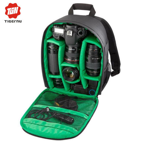 TIGERNU Tas Kamera DSLR - Green