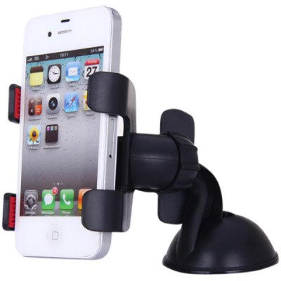 Lazypod Mobil Cakar 4 Car Suction Universal Holder for Smartphone