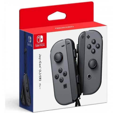 SWITCH JOY-CON CONTROLLERS (GRAY)