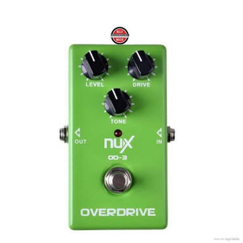 ***BILLY MUSIK*** Efek Gitar NUX OD-3 Overdrive Pedal Ture Bypass Green