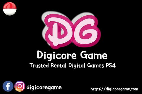 [DigiCore Game] Rental / sewa digital games PS4 / Playstation4