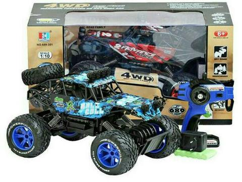 BUGGY JEEP ROCK CRAWLER SCALE 1.10 4WD 2.4 GHZ RTR