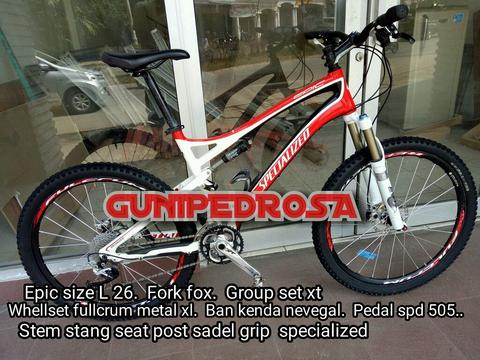 Specialized Epic scond high spek murah