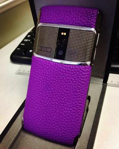 Vertu signature touch 2016 clone high quality purple edition