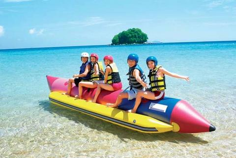 Beach Banana Boat