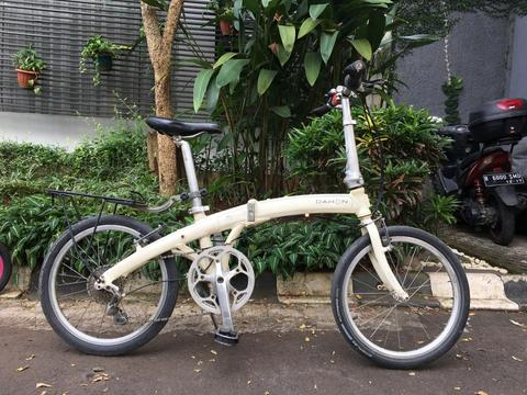 Folding Bike / Lipat Dahon Mu P8 White 2nd